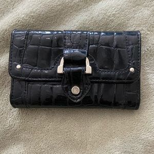 Black and pink wallet